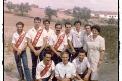 Mayordomo año 1986